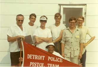 Ray with some of the Acorns JRC at the 1969 National Championships at Camp Perry, OH.